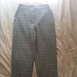 Brand new checkered NastyGal pants